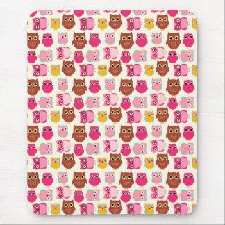Cute Owls Mouse Mat