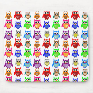 cute owls mouse mat