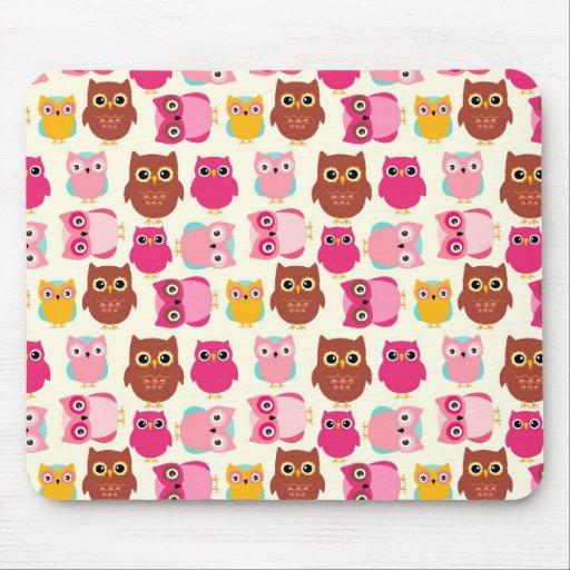 Cute Owls Mousepads