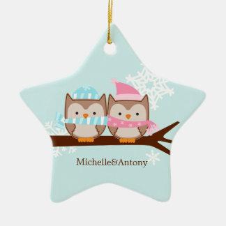 Cute Owls Ornaments