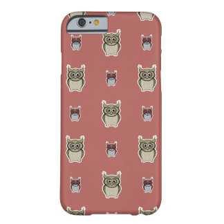 Cute owls vector design barely there iPhone 6 case