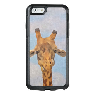 Cute Painted Giraffe OtterBox iPhone 6/6s Case