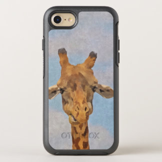 Cute Painted Giraffe OtterBox Symmetry iPhone 8/7 Case