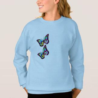 cute pair of butterflies design shirt kids hip