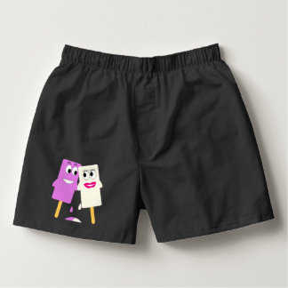 CUTE PAIR OF ICE LOLLIES IN LOVE BOXERS