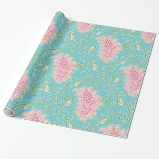 Cute Paisley Pattern Wrapping Paper
