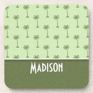 Cute Palm Tree Pattern Coaster