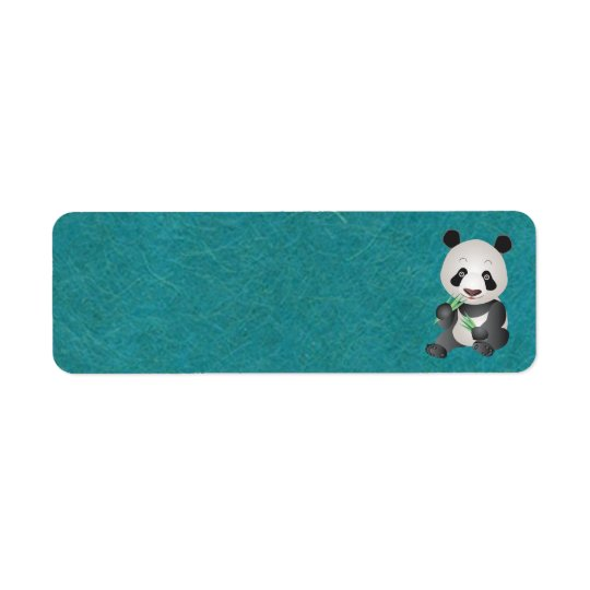 Cute Panda Address Labels