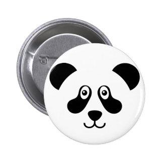 Cute Panda Bear Button