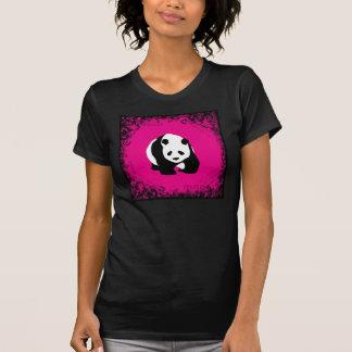 Cute Panda Bear Hot Pink Fuchsia Zoo Wildlife Gift Tshirt
