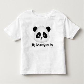 Cute Panda Bear Kawaii Cartoon Face Animals Toddler T-Shirt