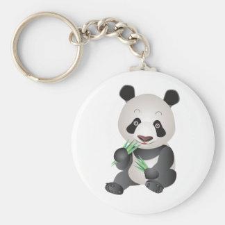 Cute Panda Bear Key Ring
