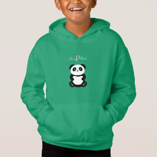 Cute Panda Bear Monogram