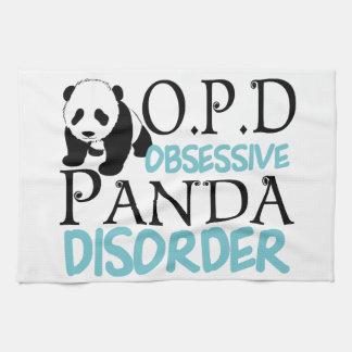 Cute Panda Bear Tea Towel