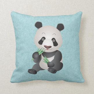 Custom Cute Panda Throw Cushions Zazzle.co.uk
