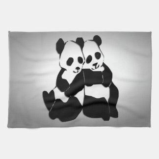 Cute Panda Bears Towel