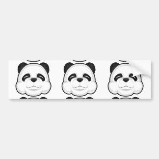 Cute Panda Bumper Sticker