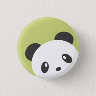 Cute Panda Button