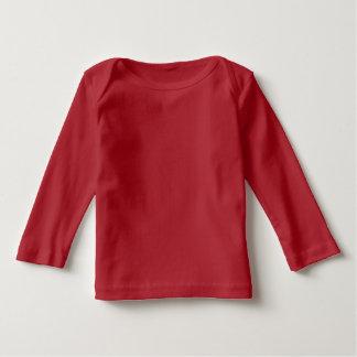 Cute Panda Character Red Customizable Baby Tee Shirts