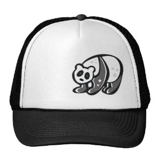Cute Panda; Cool Mesh Hat