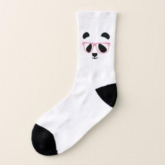 Cute Panda Face Socks