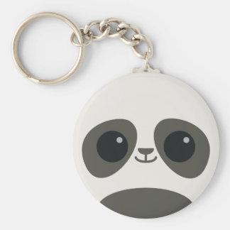 Cute Panda Face Keychains