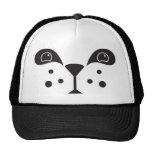 Cute Panda Face Mesh Hat