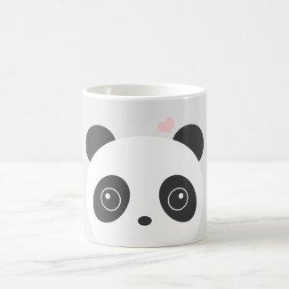 Cute Panda Grey Mug