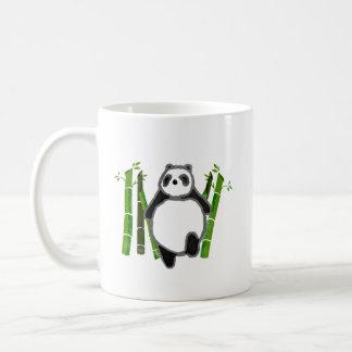 Cute panda ink drawing mug
