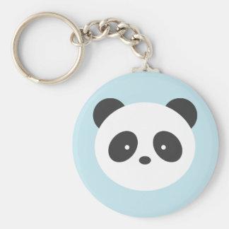 Cute panda key ring