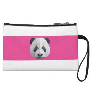 Cute Panda Mini Clutch Wristlet Purse