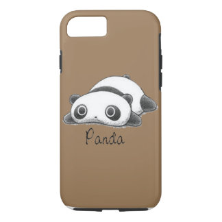Cute Panda Pale Brown iPhone 8/7 Case