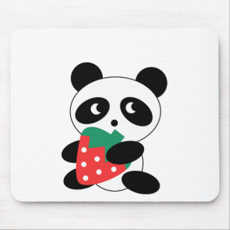 Cute Panda Party Pack Mouse Pad