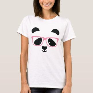 Cute Panda Pink T-Shirt