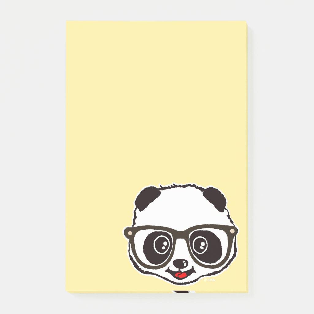 Cute Panda Post It Notes