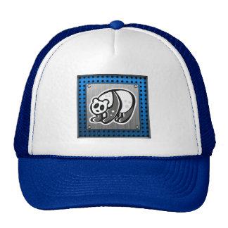 Cute Panda Silver Trucker Hats