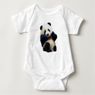 Cute Panda Sitting baby shirt