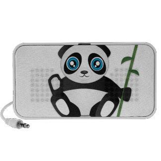 Cute Panda Speaker System