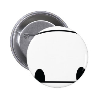 Cute panda spy 6 cm round badge