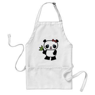 Cute Panda Standard Apron