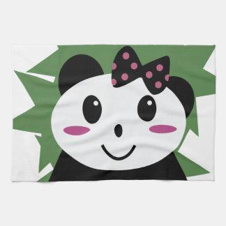 Cute panda towels