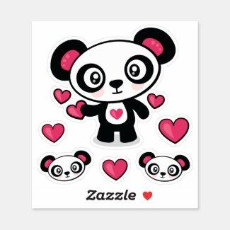 Cute Panda Vinyl