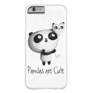 Cute Panda with Balloon Barely There iPhone 6 Case
