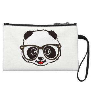Cute Panda Wristlet Purse