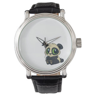 Cute Panda Wristwatch