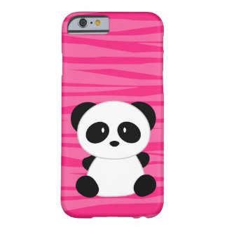 Cute Panda Zebra Barely There iPhone 6 Case
