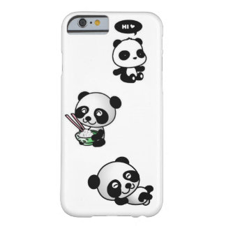 Cute Pandas Barely There iPhone 6 Case
