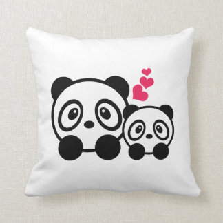 Cute Pandas Cushion