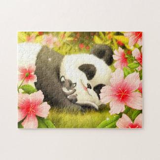 Cute Pandas Jigsaw Puzzle