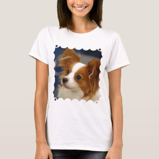 Cute Papillon Dog T-Shirt